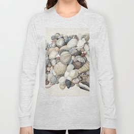 Sea shore of Crete Long Sleeve T-shirt