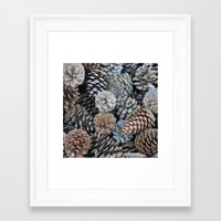 plant Framed Art Prints featuring plant by YsfKara