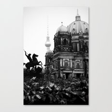 Untitled 26 - Berlin Canvas Print