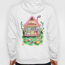 Rebecca Rabbit, Her House, and Her Belongings Hoody
