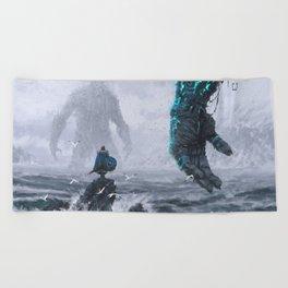 Duel Beach Towel