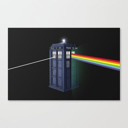 The Dark Side of the Booth Canvas Print
