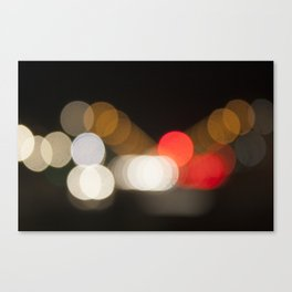 Let light be there Canvas Print