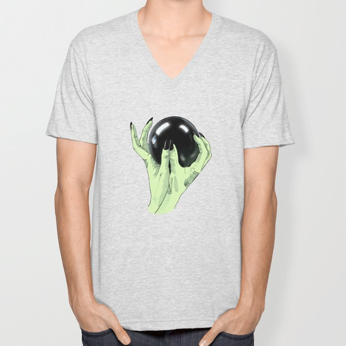 Crystallomancy Unisex V-Neck