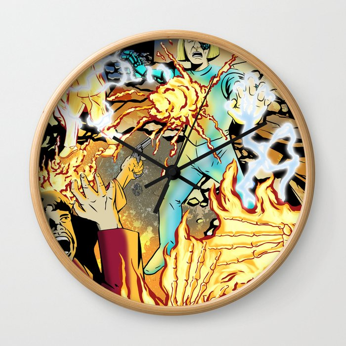 GUEST FROM THE FUTURE Wall Clock