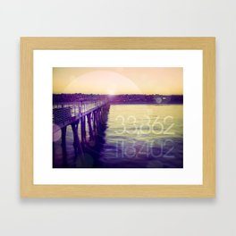Hermosa Beach, California Framed Art Print