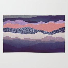 Winter Mountains Rug