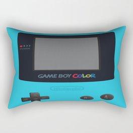 GBC Blue Rectangular Pillow
