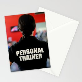 personal trainer Stationery Cards