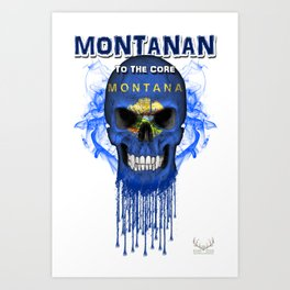 To The Core Collection: Montana Art Print