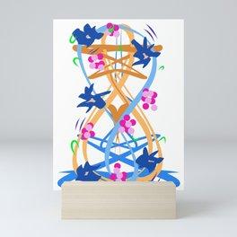 Abstract Garden #3 Mini Art Print
