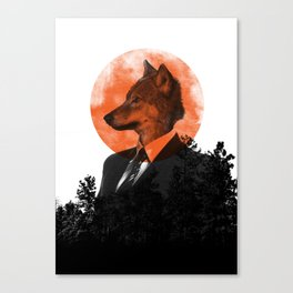 The real Wolf of Wall Street Canvas Print