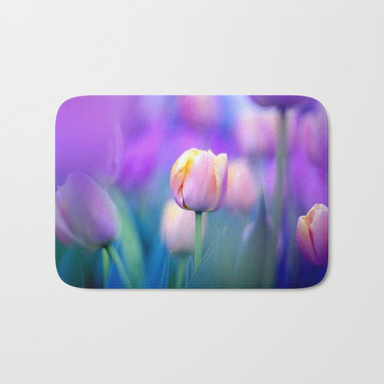 Tulips , Flowers  , Tulips , Flowers  games, Tulips , Flowers  blanket, Tulips ,  Bath Mat