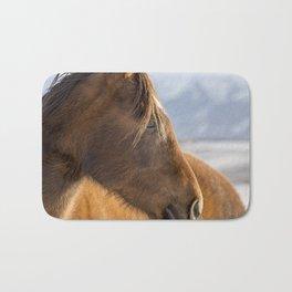 Rustic Horse in Color Bath Mat