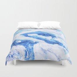 Ocean Marble Duvet Cover
