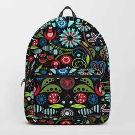 Scandinavian Inspiration (Black) Backpack
