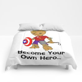 Become Your Own Hero Comforters