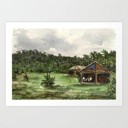 Chapare, Bolivia Art Print