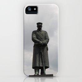 Marshal Jozef Pilsudski Monument iPhone Case