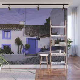 Home in Nazare Wall Mural
