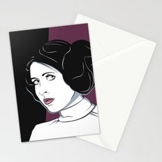 Princess Leia Pop Art Stationery Cards