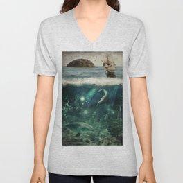 WATER WORLD Unisex V-Neck