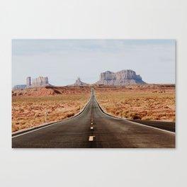 Desert Road Trip V Canvas Print