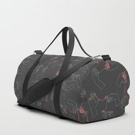 Fil Rouge (colored) Duffle Bag