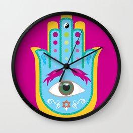 Hamsá Ori II Wall Clock