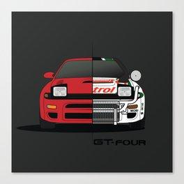 Celica GT-four Canvas Print