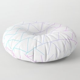 Triangle 2 Floor Pillow