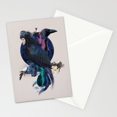 liquor for the birds Stationery Cards