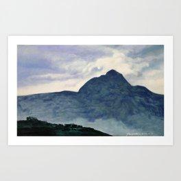 Tai Hang Mountain Art Print