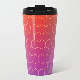 Colorful geometric background #society6 #decor #buyart #artprint Travel Mug