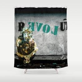 ABRACADABRA - R EVOL UTION Shower Curtain