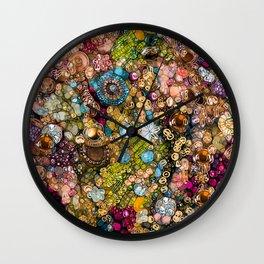 Autumn's Treasure Box Wall Clock