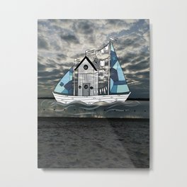 Moving home  Metal Print