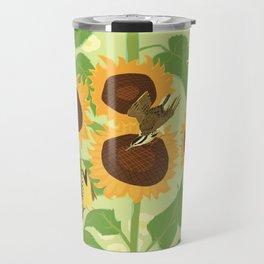 Sunbathing Meadowlarks Travel Mug