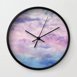 Cloud Trippin' Wall Clock