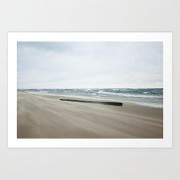 The Effects of Hurricane Sandy in Holland, MI Art Print