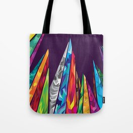 Up to the mountains Tote Bag