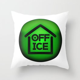 Home Office - Fight the Epidemic Throw Pillow