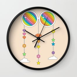 Stardust Shades Wall Clock