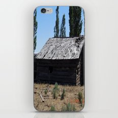 An old time cabin iPhone & iPod Skin