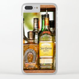 Last Call For Alcohol Clear iPhone Case