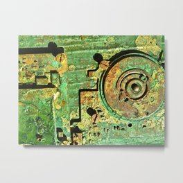 Electronic Integration IX Metal Print