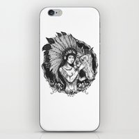 indiana iPhone & iPod Skins featuring indiana by ridwanafid