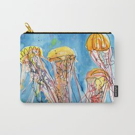 Jellyfish Friends Carry-All Pouch