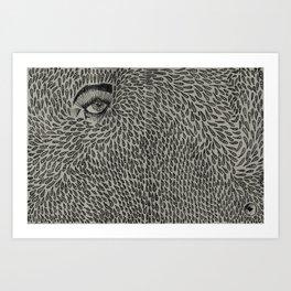 Eyedrops  Art Print