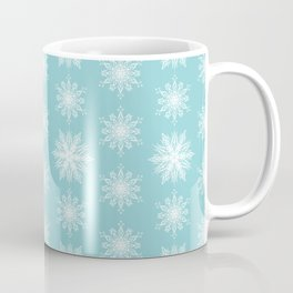 Frosty Snowflakes Coffee Mug
